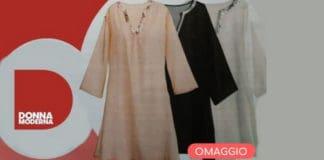 omaggio donna moderna abito mare