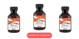 Campioni omaggio shampoo Davines