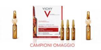 Campioni omaggio Vichy ampolle
