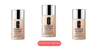 Diventa tester Clinique