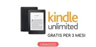 Abbonamento Kindle Unlimited omaggio