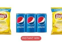 Instant win Pepsi e Lay's