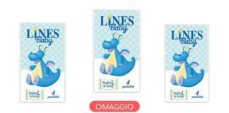 Pannolini Lines Baby omaggio