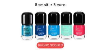 Promo Kiko Smart Nail Lacquers