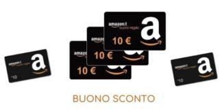 Buono sconto Amazon 10€