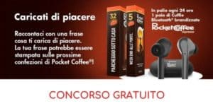 concorso gratuito Pocket Coffee