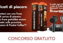 Concorso gratuito Pocket Coffee