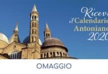 Calendario Antoniano 2020 omaggio
