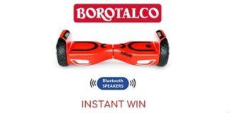 Concorso instant win Borotalco