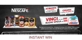 Instant win Nescafè-Mercatò