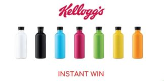 Instant win Kellogg's