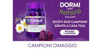 Campioni omaggio ZZZquil Natura