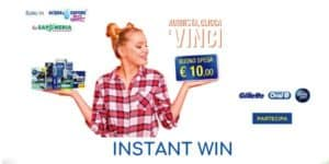 "Instant win ""Vinci in cassa"""