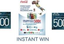Instant win Coca Cola