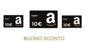 Ricevi 10€ in omaggio su Amazon