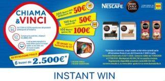 """Nescafé """"Chiama e Vinci"""""""
