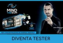 Diventa tester integratori Mind the Gum