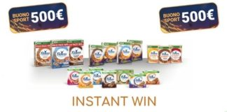 Instant win Cereali Fitness