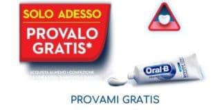 Provami gratis dentifricio Oral-B