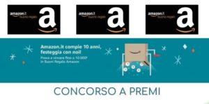 Concorso a premi Amazon