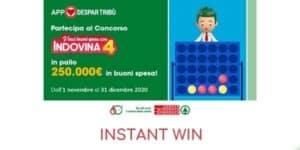 Concorso instant win Despar