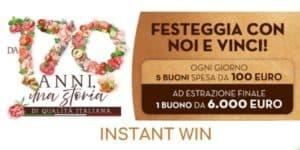 instant win fiorucci