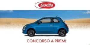 Concorso a premi Barilla vinci Fiat 500