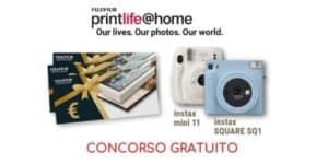 Concorso gratuito Fujifilm