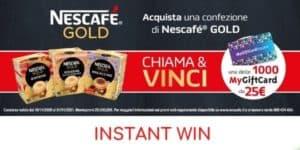 Instant win Nescafè Gold