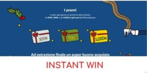 instant win Lavazza