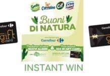 """Instant win """"Buoni di Natura"""""""