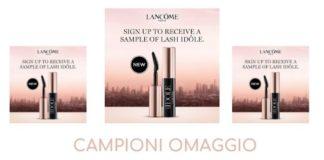 Campioni omaggio mascara Lancôme Lash Idôle