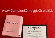 Campioni omaggio Armani Beauty