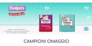 Campioni omaggio Pampers Mutandino