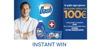 concorso instant win Dash