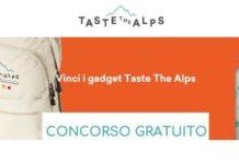 Taste The Alps concorso gratuito