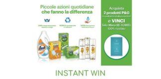 """concorso instant win """"Vinci con P&G"""""""