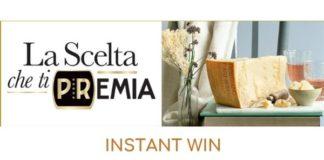 concorso instant win Parmigiano Reggiano