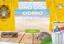 concorso estathè vinci t-shirt Van Orton