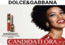 Diventa tester Dolce & Gabbana meke up