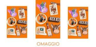 kit di adesivi Sticker Mule