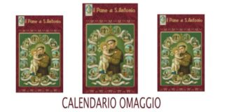 calendario omaggio pane s.antonio 2022