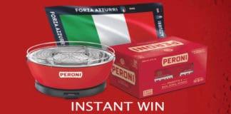 concorso instant win peroni vinci kit barbeque