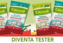 Diventa tester Salviette Multisuperfici Igienizzanti Citrosil