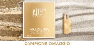 campioni omaggio mugler alien goddess